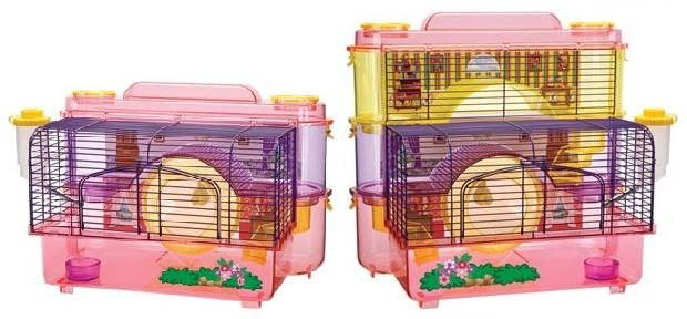 Cute hamster cages! | Cutest Small Animals | Pinterest ...  Cute hamster ca...