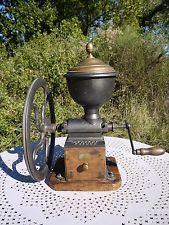 Rare:ancien moulin à café de comptoir Peugeot freres C3 Big Antik coffee grinder