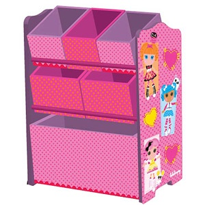 MGA Lalaloopsy 3-Tier Storage Organizer........The girls are obsessed with La La Loopsy now!!!!