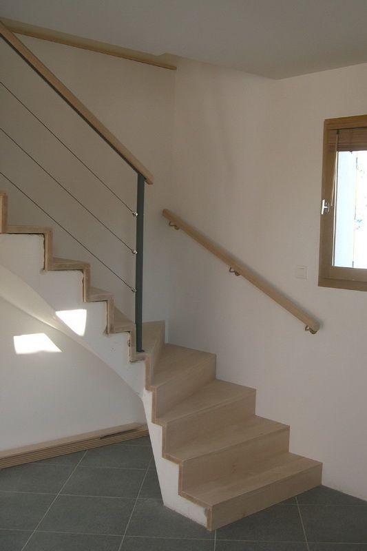 habillage escalier b ton sans nez de 533 800 pixels escaliers pinterest. Black Bedroom Furniture Sets. Home Design Ideas