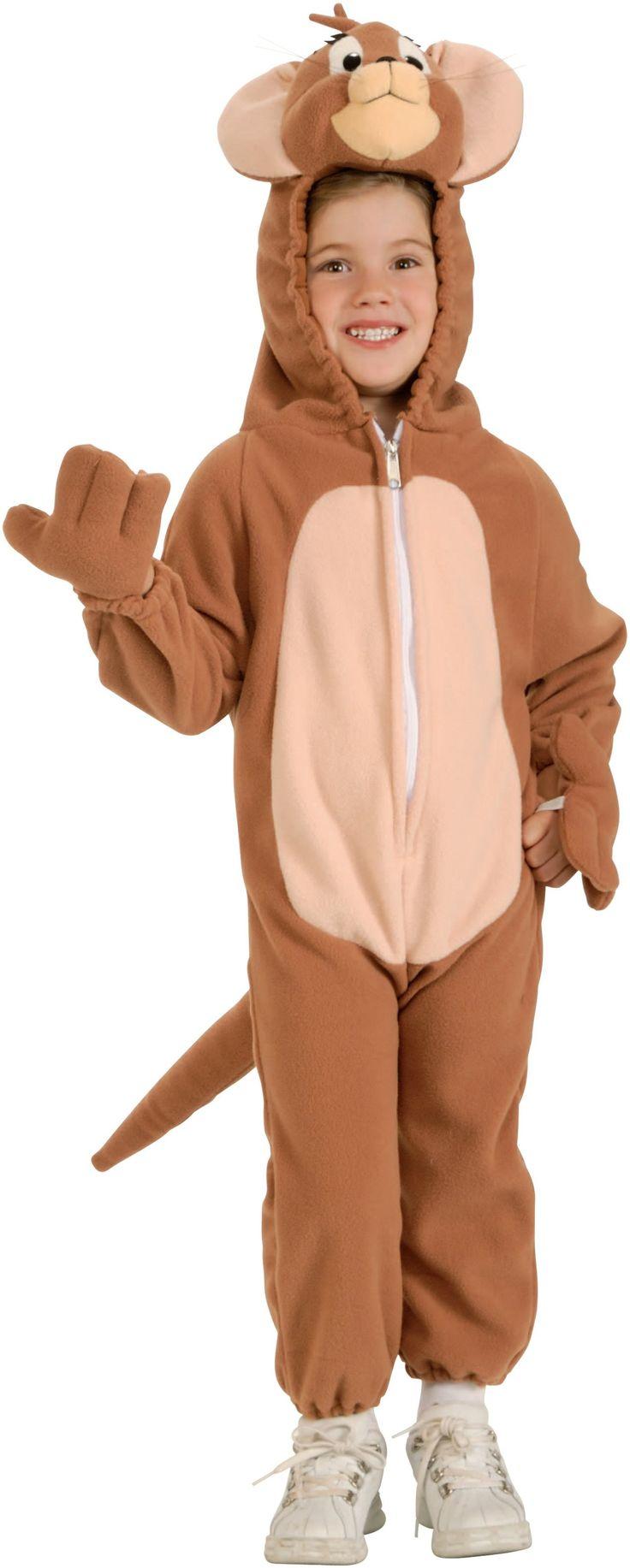tom u0026 jerry jerry child costume costume includes fleece jumpsuit with easy release zipper costumes kidscheap halloween