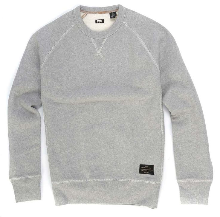 Sweat Básica Levis CREWNECK Grey Heather