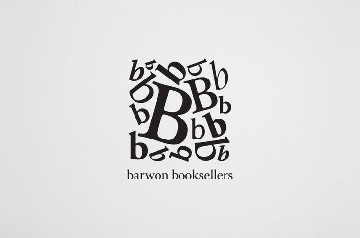 Barwon booksellers logo. Grid of b's.