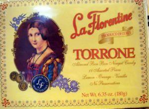 Authentic La Florentine Torrone soft almond bon bon nougat candy 18 assorted pieces, ,