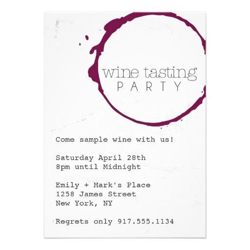 best 25+ wine tasting shower ideas on pinterest   wine tasting, Party invitations