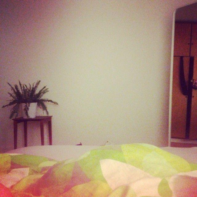Part of my bedroom.