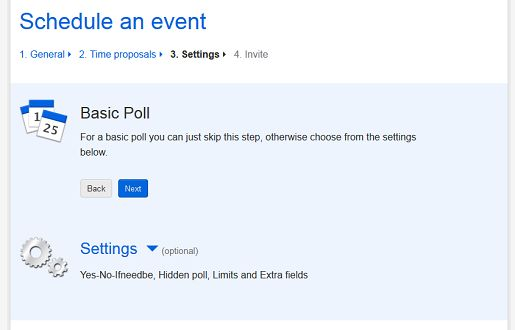 Doodle Free Poll- create a free poll in minutes