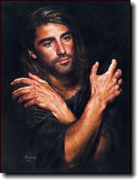 painting by Akiane Kramarik of Jesus Más