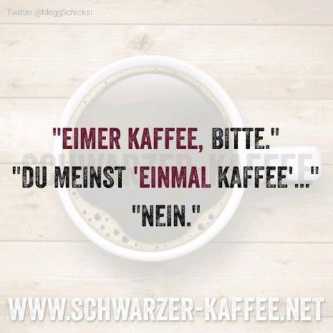 EIMER KAFFEE