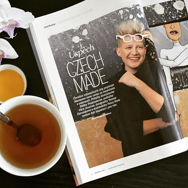 Eliška Podzimková @eliskap vytvořila kampaň pro @JamieOliver! 🥇❤👏🏼  Další úspěšné ženy najdete v březnové Marianne!   #womenwhohaveitall #design  #eliskapodzimkova #mariannemagazine #marchissue #inspirationalwomen
