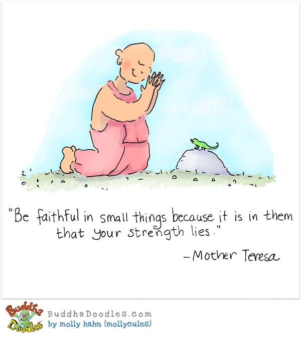 Buddhist Gratitude Quotes: Gratitude For Small Things! Get Buddha Doodles Delivered