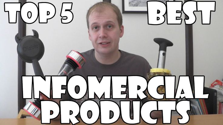 Top 5 Best Infomercial Products!