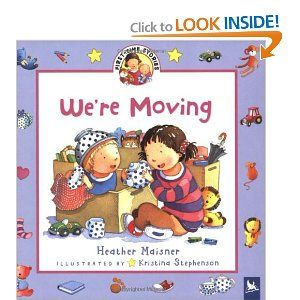 """""""We're Moving"""" by Heather Maisner  Great Pre-K book that tackles the issue of #moving"""