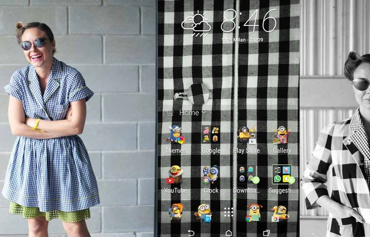 HTC One Themes Marco Bologna total look
