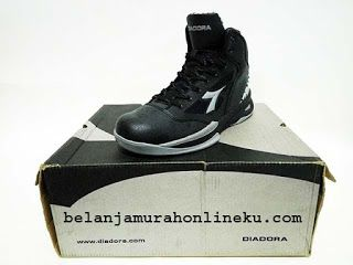 Sepatu Basket Diadora Pivot warna hitam | Belanja murah online