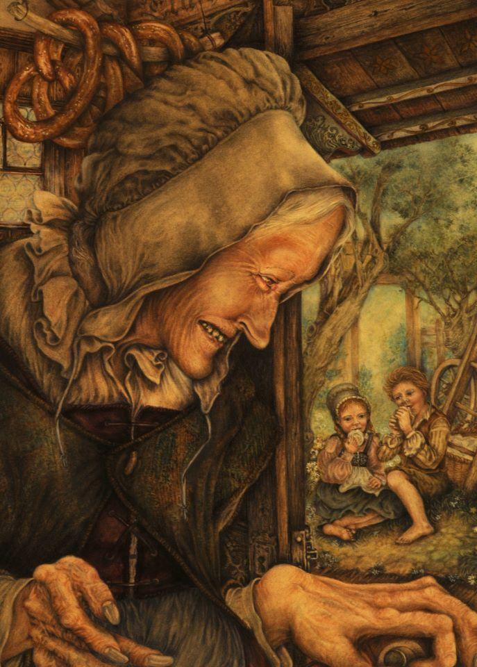 Hansel e Gretel  F. Grimm  illustrazione Lucia Campinoti