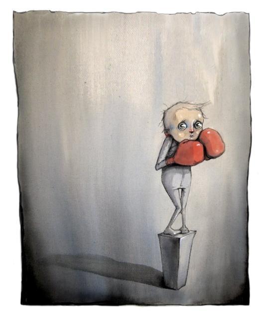 En liten slosskjempe by Lisa Aisato