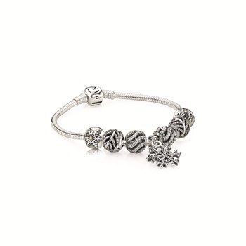 PANDORA bracelet $89 and charms from $59 each