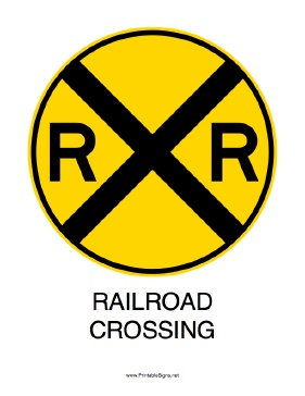 Signs, Free printable and The railroad on Pinterest