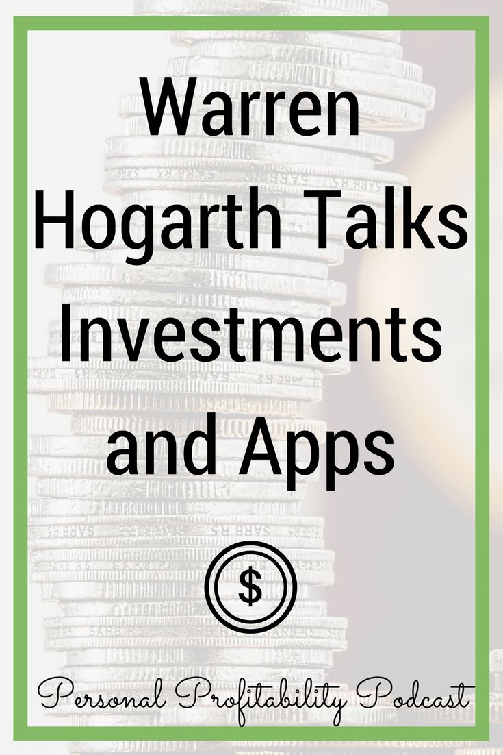 Today's guest has been on both sides of the business investment table: one as a venture capitalist for Sequoia Capital, and one side as the founder of the personal finance app Empower. You won't want to miss this episode with Warren Hogarth! via @personalprofits