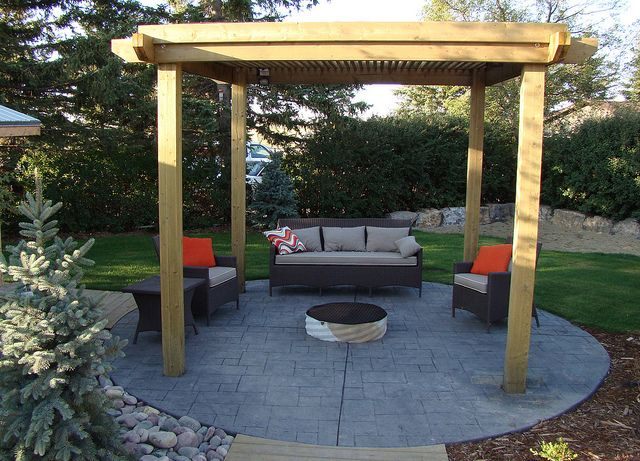 1000+ images about Firepit & Pergola Ideas on Pinterest on Pergola Fire Pit Ideas id=82702