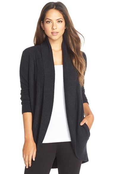 Free shipping and returns on Barefoot Dreams 'Circle' Cardigan at Nordstrom.com. A signature lightweight and cozy knit elevates the comfort of a chic long cardigan that looks great around the house or out on errands.