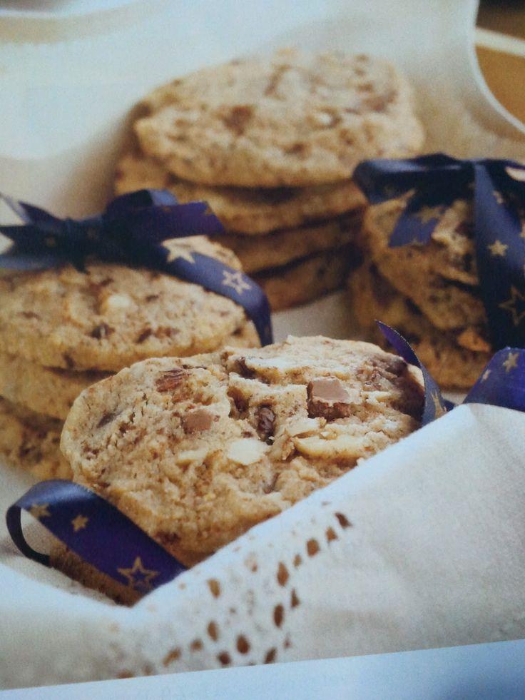 Recetas para tu Thermomix - desde Canarias: Cookies de tres chocolates