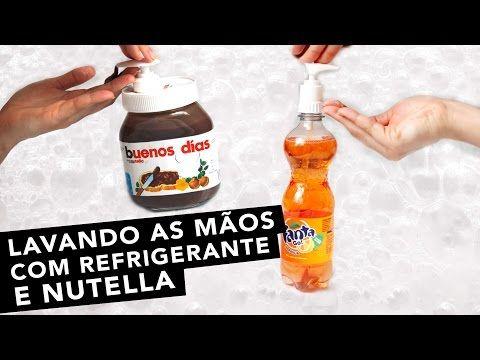 DIY: SABONETE DE NUTELLA E REFRIGERANTE - YouTube