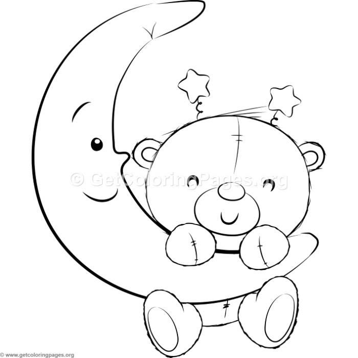Cute Teddy Bears 17 Coloring Pages Teddy Bear Coloring Pages