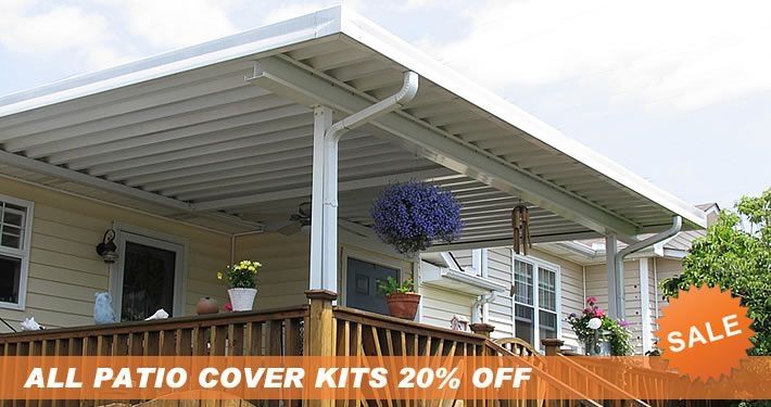 home depot screened in porch kits | Patio Cover DIY Kits ...