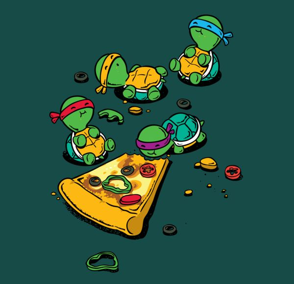 Pizza Lover- Tees