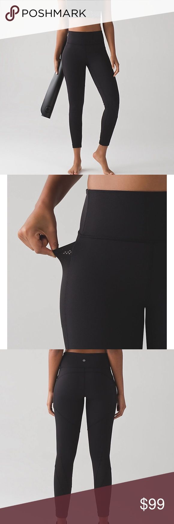 NWT Lululemon Fit Physique Tights | Size 6 BRAND NEW WITH TAGS SIZE 6 COLOR: black  These sweat-wicking tights with added support have Mesh panels for hybrid workouts. Full-On Luon® fabric is four-way stretch and soft against your skin.   A tight-knit version of our Luon® fabric, sweat-wicking Full-On® Luon is four-way stretch with a cottony-soft feel - incredible support and coverage - sweat-wicking - four-way stretch - cottony-soft handfeel - naturally breathable  Regular Price: $118…