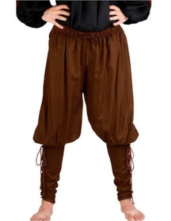 Amazon.com: Pirate Renaissance Medieval Costume Pants Trousers: Clothing
