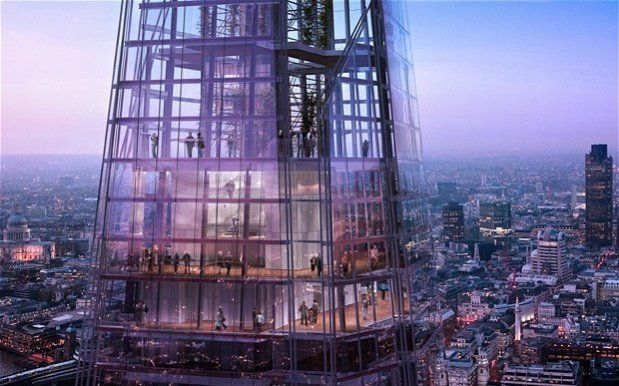 The View from The Shard, Londen, Engeland