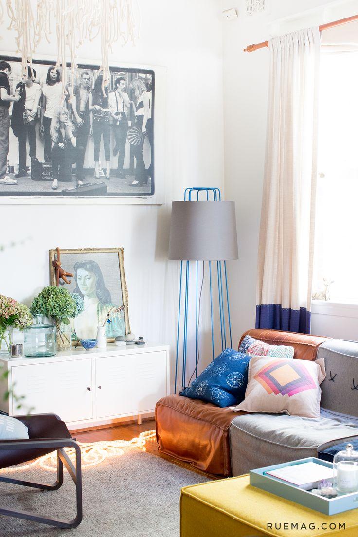 Jason Grant's Sunny Australian Abode | Rue // Blu Dot Perimeter Lamp