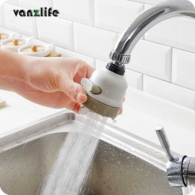Moveable Kitchen Increase Pressure Water saver Tap Head HIGH QUALITY Simple