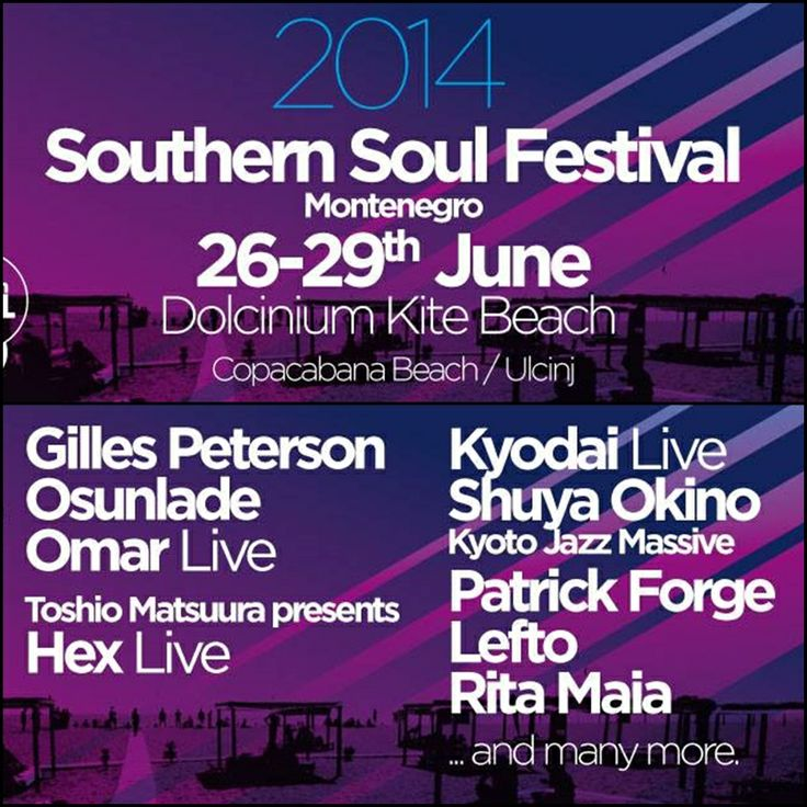Southern Soul Music Festival, Ulcinj, Montenegro
