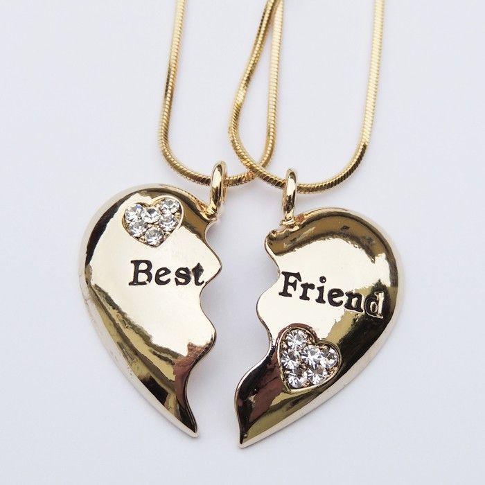 Resultado de imagen para Collares y anillos de mejores amigas