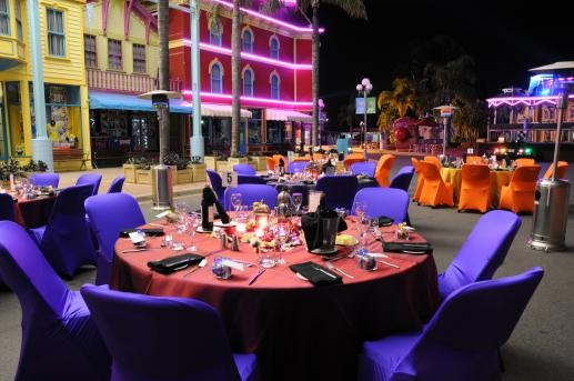 Dreamworld & Whitewater World Events on the Gold Coast, QLD, takes your fun seriously! Their unique venues offer an alternative to standard conferences, corporate dinners and social events. Their professional and creative team will help you create a unique event with high quality food and memorable experiences.  Fantastic unique and versatile venues perfect for your next Gala Dinner, Coporate Function or Beach Party.