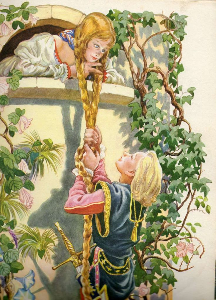 The fairytale of Rapunzel