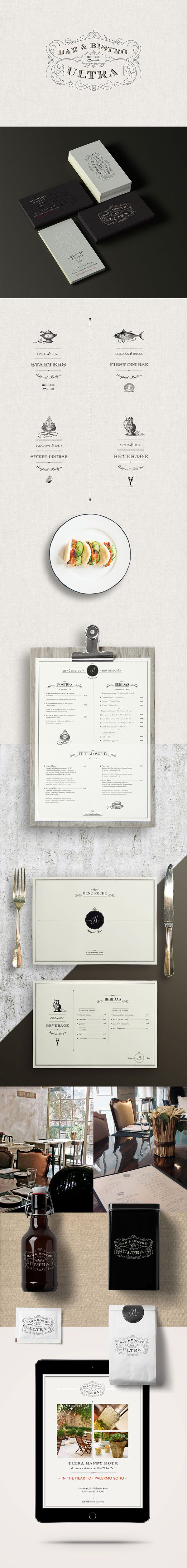 Ultra Bistro on Behance