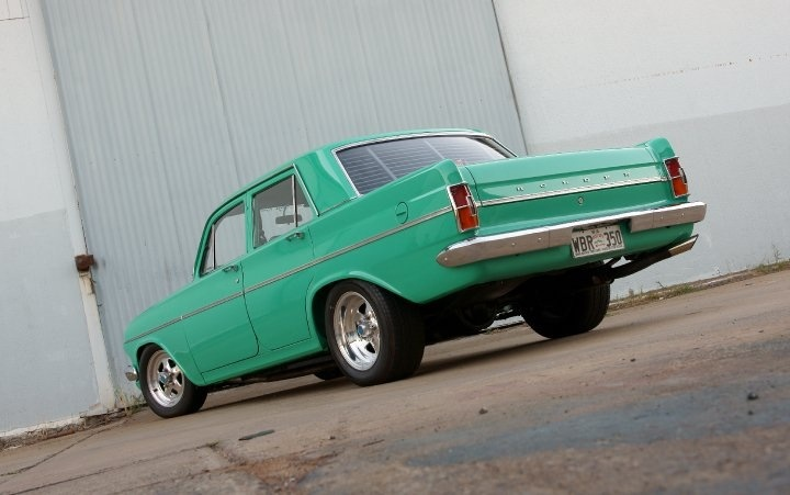 1964 EH Holden. 383 chevy - standing qrt in 11 seconds