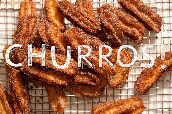 "Churros from ""I am Food Blog"""