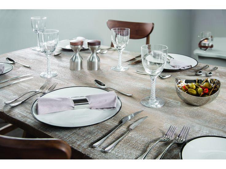 Sztućce Robert Welch Arden, nowoczesna kuchnia, prezent ślubny, prezenty, na ślub, jadalnia, aranżacja stołu, wesele
