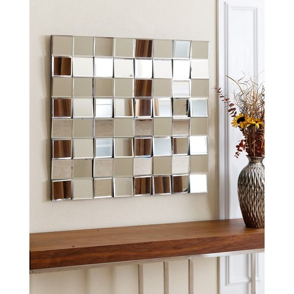 Abbyson Living Isabella Square Wall Mirror Overstock