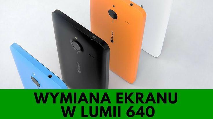 Microsoft Lumia 640 - Wymiana wyświetlacza LCD w 3 minuty, naprawa ekranu [PORADNIK]