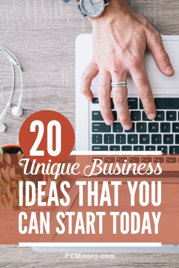 These successful and unique business ideas aren't just good, they're great! The best business ideas are the one's that are unique and can be started today.