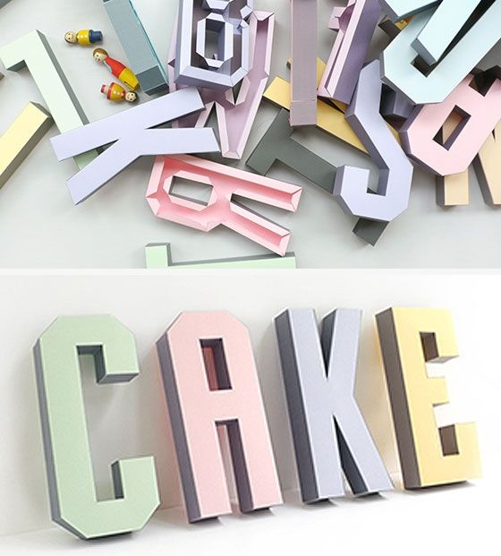 Printable Letters. creative fun.