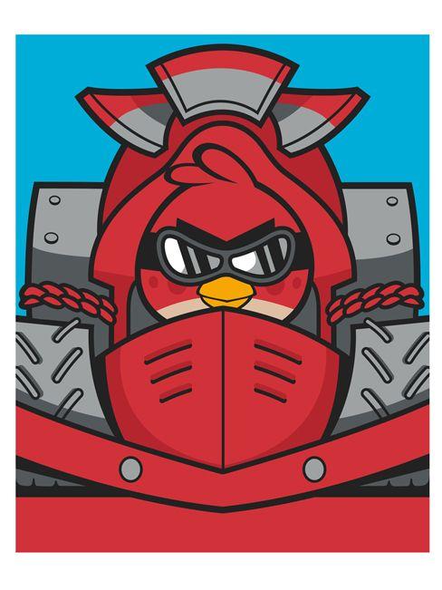 Angry Birds Fleece Blanket - Go Fast Design - Kids Bedroom