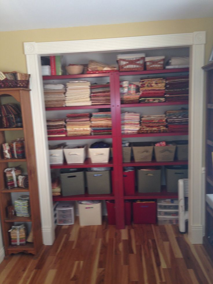 125 best quilting room closets images on pinterest for Kitchen quilting ideas